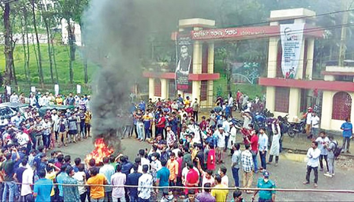 Gang-rape by BCL activists at MC College triggers protests